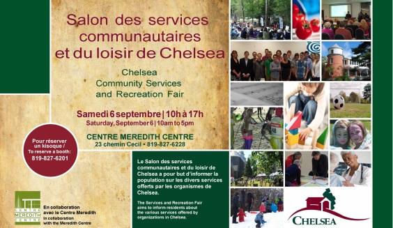 Community Services Fair, sept 2014