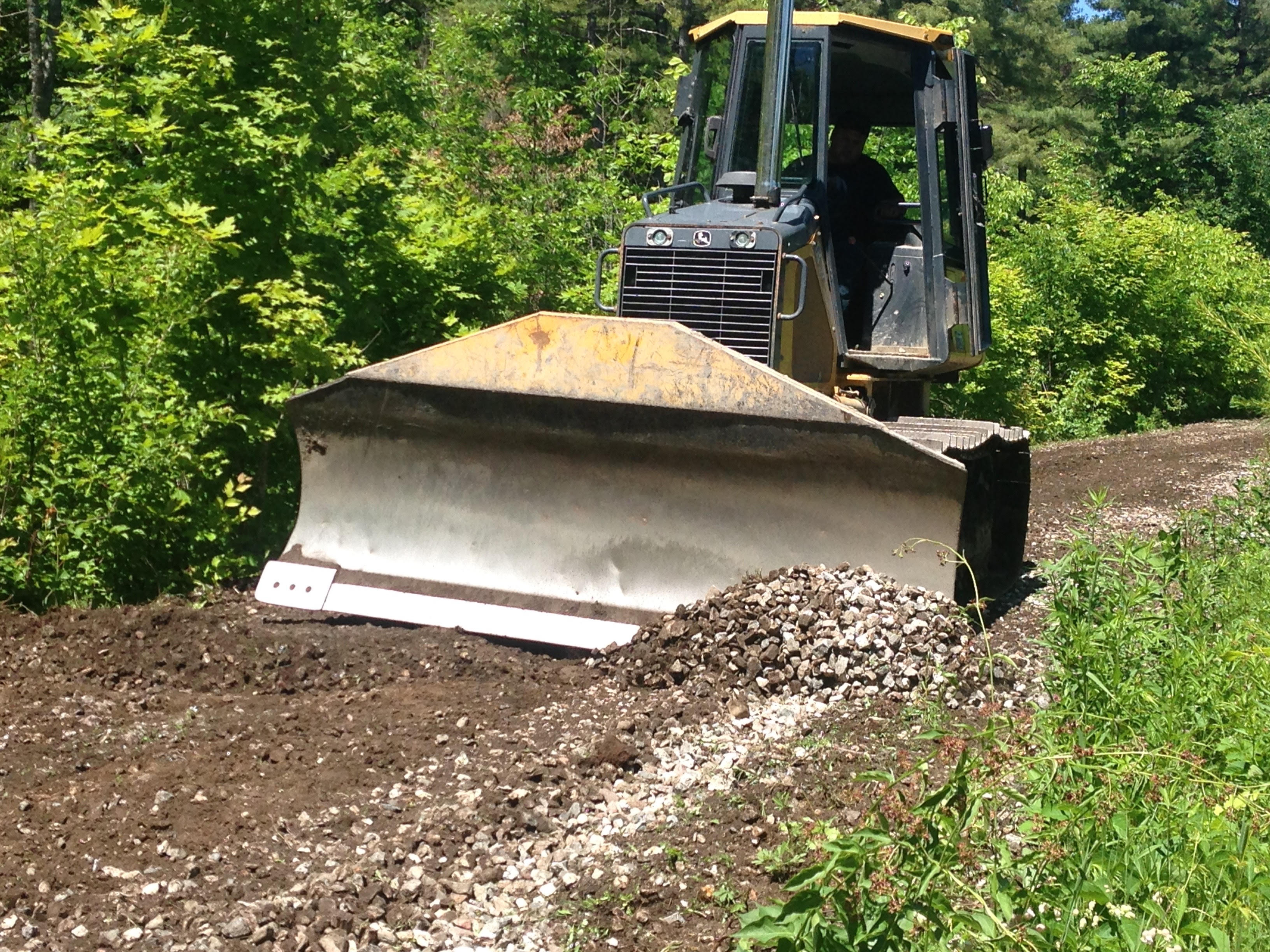 2018-06-01 bulldozer on community rail trail